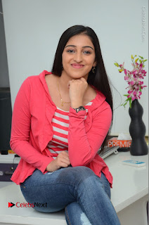 Telugu Actress Mouryani Latest Pos in Blue Denim Jeans  0160.JPG