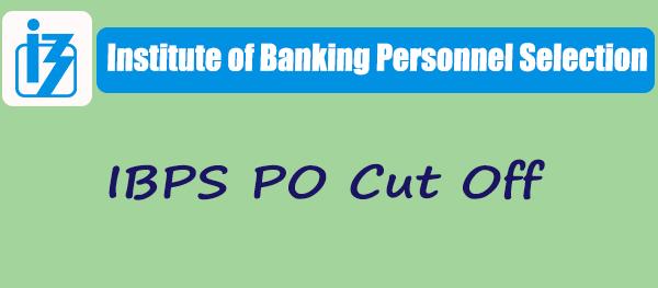 IBPS PO Cut off 2018