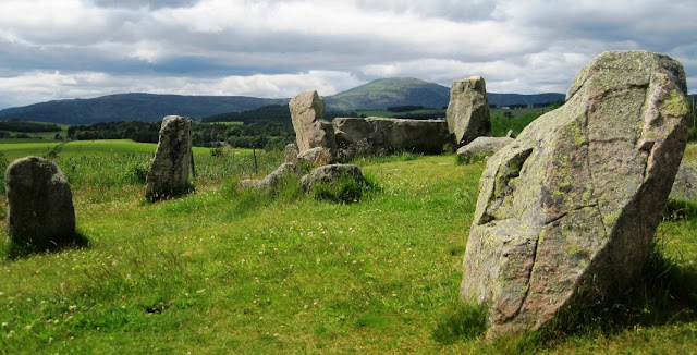 Tomnaverie Stone Circle, Tarland, Deeside Walks