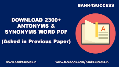 2300+ Antonyms and Synonyms Word from Previous Year Papers.pdf