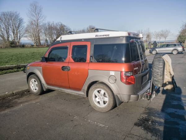Honda Element Ecamper For Sale >> 2005 Honda Element EX AWD With Camper - RV & Camper