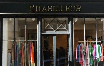La mode à prix soldés chez l'Habilleur Paris