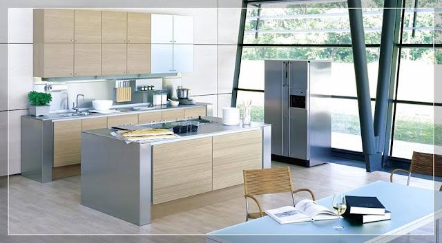Contoh Desain Model Dapur Rumah Minimalis Tipe 54