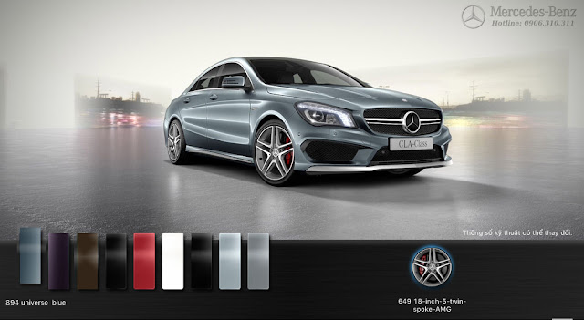 Mercedes AMG CLA 45 4MATIC 2018