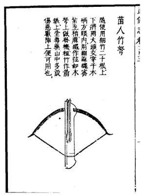 Miao Montagnard Crossbow