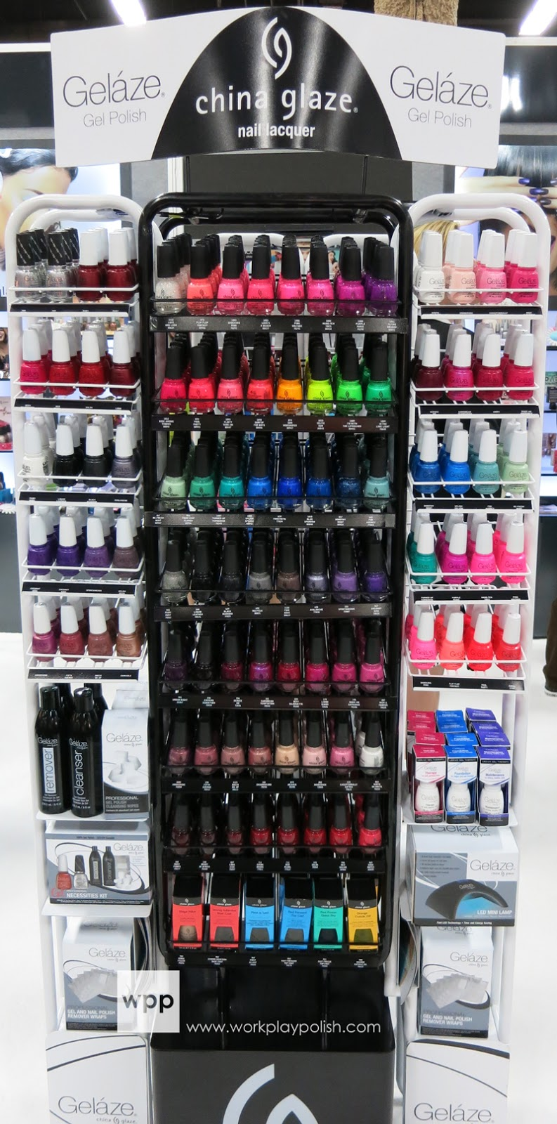China Glaze Gelaze Gel Nail Polish System