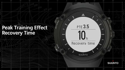 recovery time SUUNTO