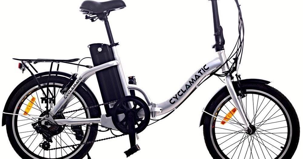 Exercise Bike Zone Cyclamatic Cx2 Electric Foldaway Bike