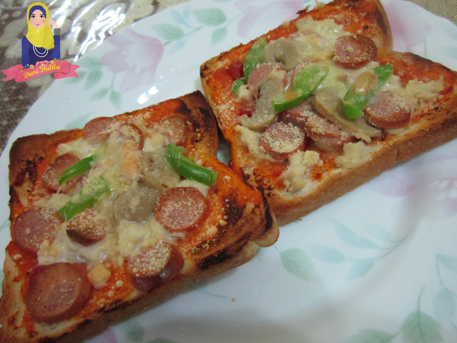 Dalila Hamid: Pizza Roti Gardenia - Simple