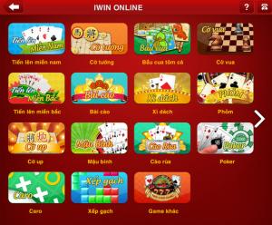 Tai iWin Online cho may tinh bang