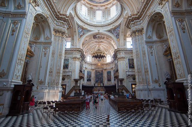 Visitar catedral duomo Bergamo Italia