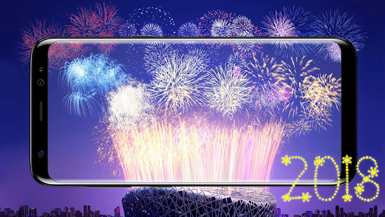 new year live wallpaper for android