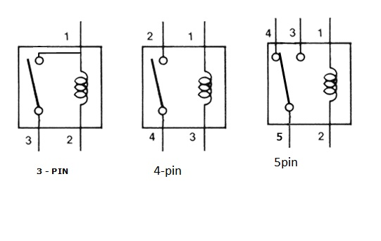 4 pin relay switch