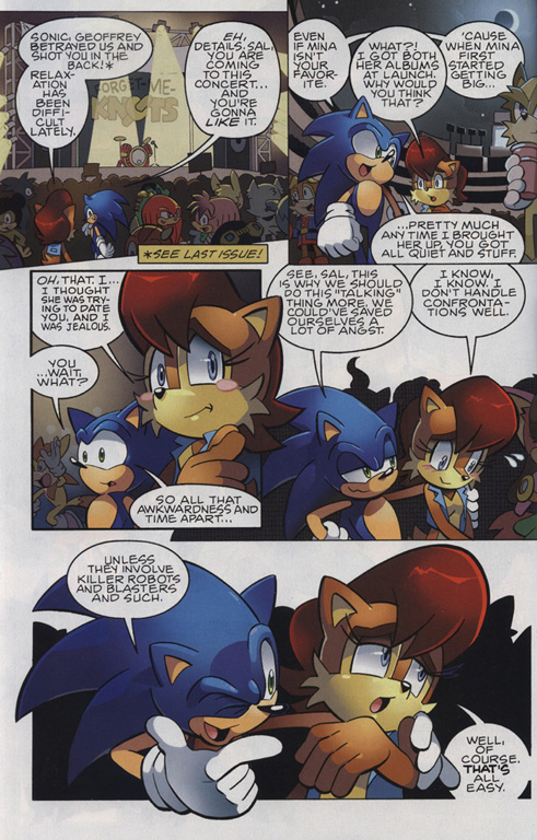 Read online Sonic The Hedgehog comic -  Issue #221 - 3