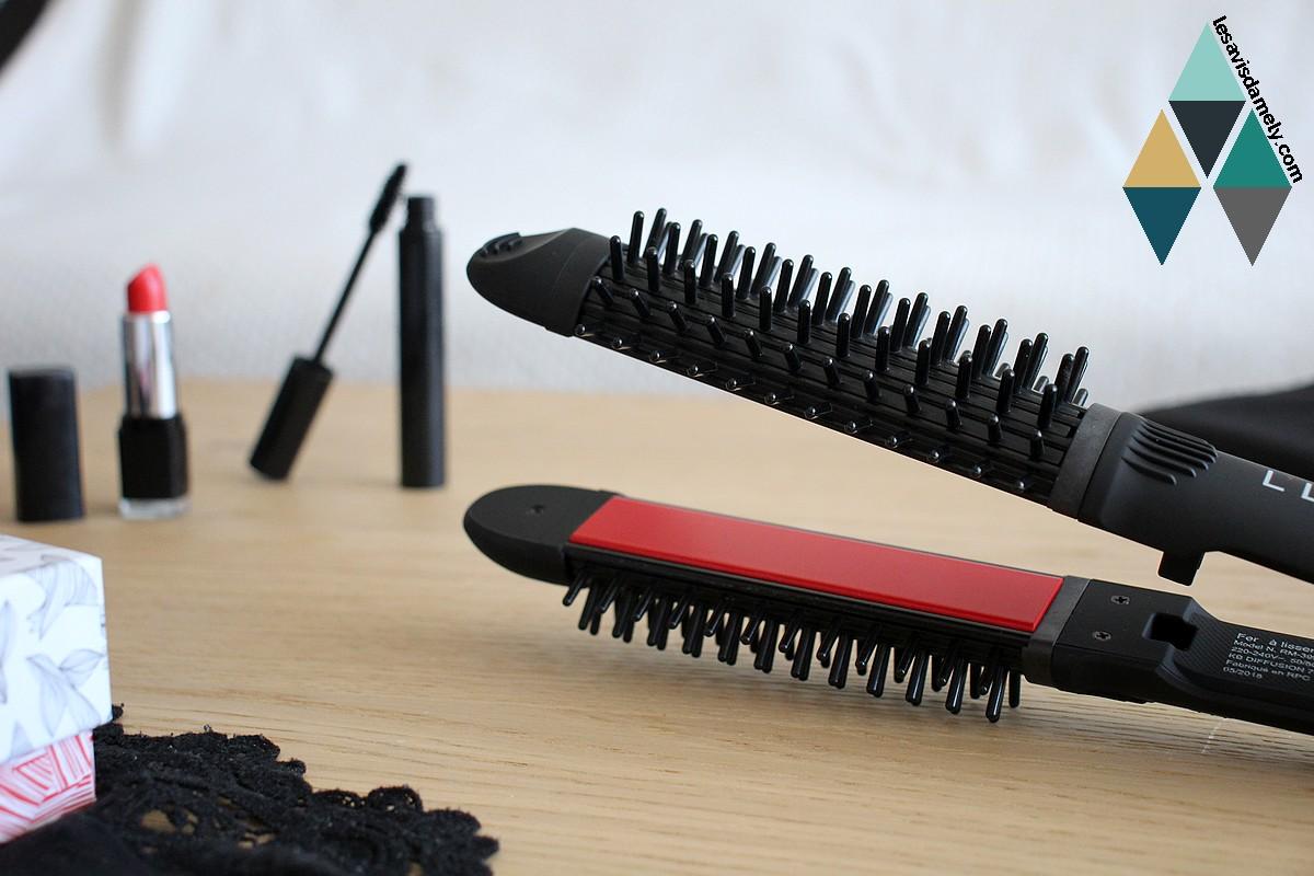 avis et test plaques céramiques lissants bouclants céramiques Hairissime