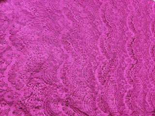 Kain Lace merupakan bahan kain untuk membuat vitrase gorden