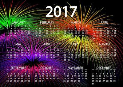 Happy New Year Calendar 2017 HD Pic