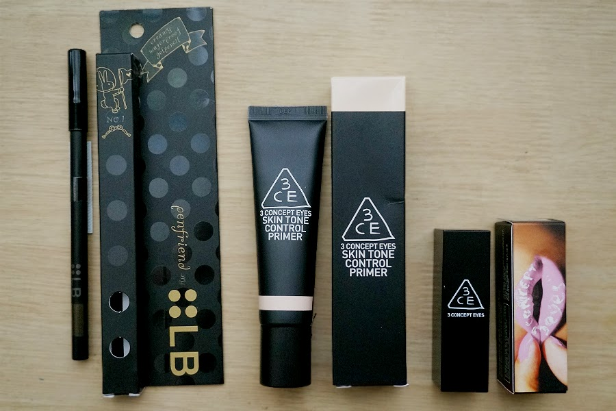 LB COsmetics and 3 Concept Eyes (3CE)