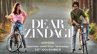 Dear Zindagi (2016) Full Free Hindi Movie Download BluRay 1GB
