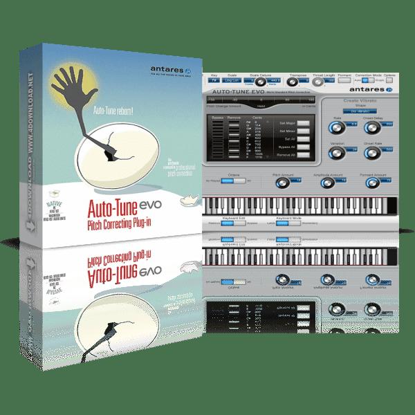Antares Auto-Tune Evo v6.0.9.2 Full version