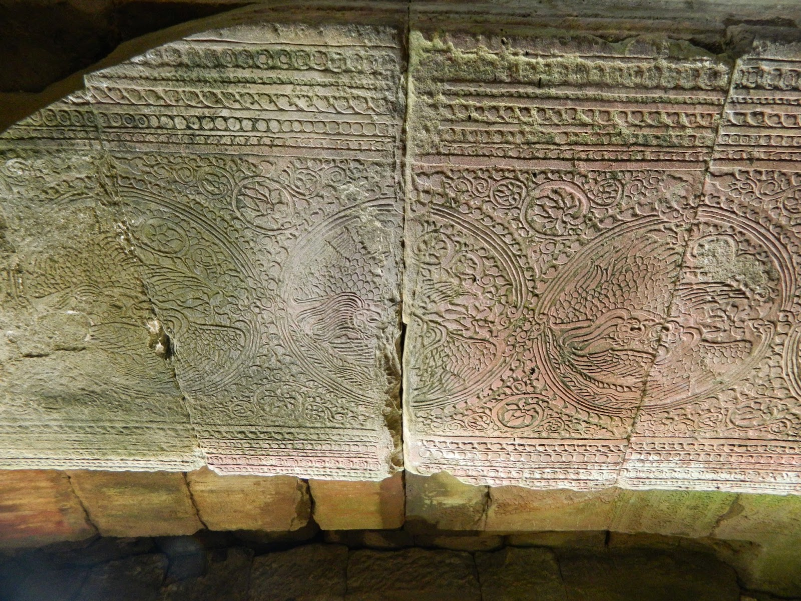 Walls were well decorated but still had the shallow carvings