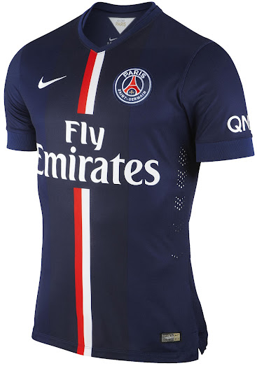 Paris Saint Germain PSG 2014-2015 Nike Home, Away and third Kits released