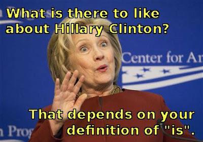 Like Hillary Clinton