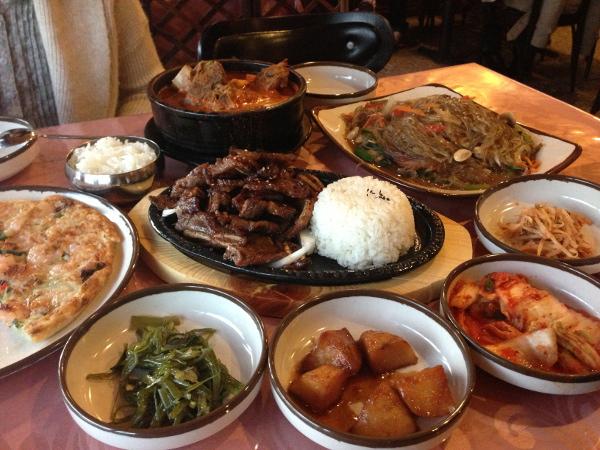 Alirang Korean Restaurant Hamilton Menu