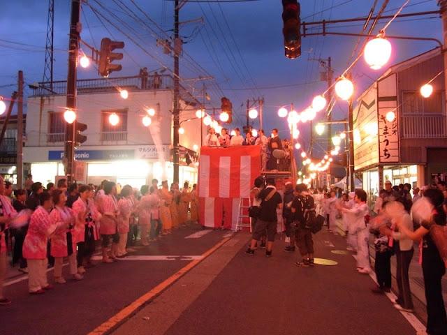 Bandai Matsuri (fire festival), Inawashiro, Fukushima
