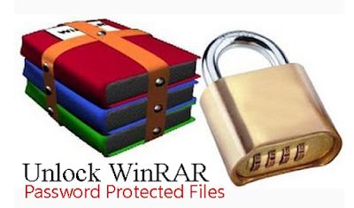 Cara Mudah Membuka File Winrar Yang Terkunci Password