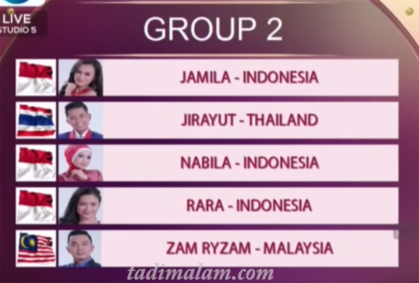 Pembagian Grup DAA4 Top 10 Besar