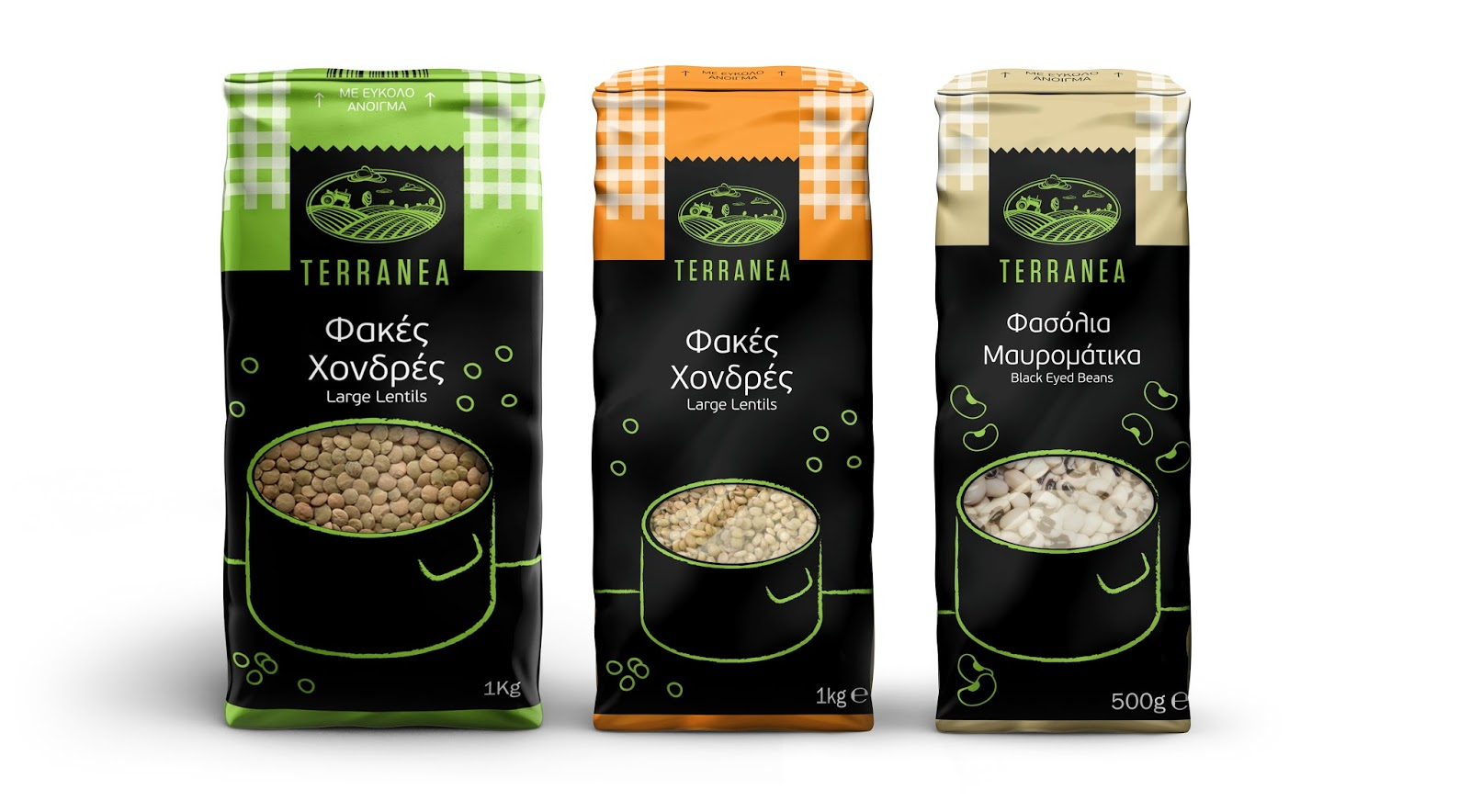 Terranea Legumes Amp Rice On Packaging Of The World