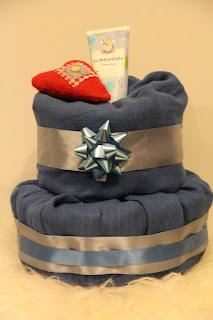 Vaippakakku Sininen Joulu