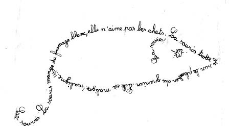 Hugomanie apollinaire souris for Coeur couronne et miroir apollinaire