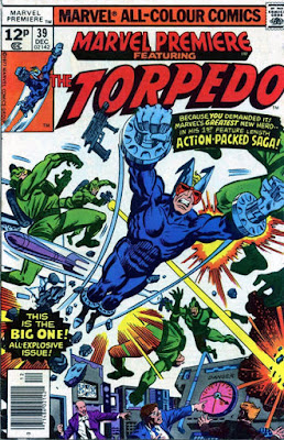 Marvel Premiere #39, The Torpedo