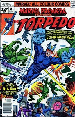 Marvel Premiere #39, The Torpedo