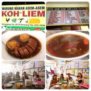 Kuliner Indonesia - Rumah Makan Asem-Asem Koh Liem