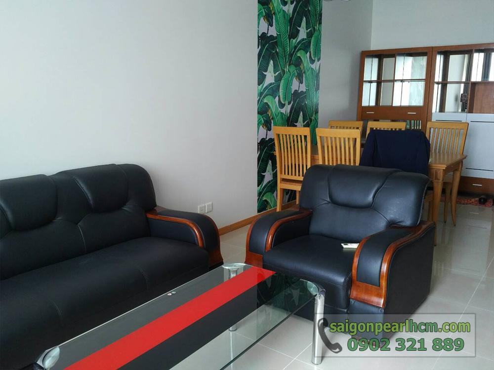 Cho thuê căn hộ Saigon-Pearl Topaz 1 tầng 29 nội thất mới đẹp - hình 2