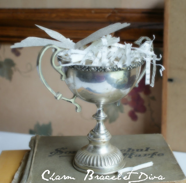 Vintage silver cups can serve as substitute for vintage trophy