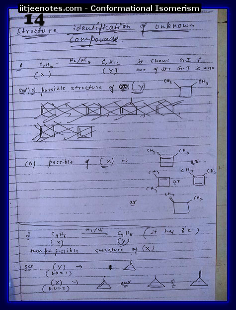 Conformational Isomerism Notes4