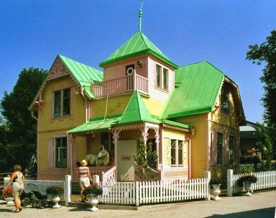Villa Villacolle a Visby, isola di Gotland
