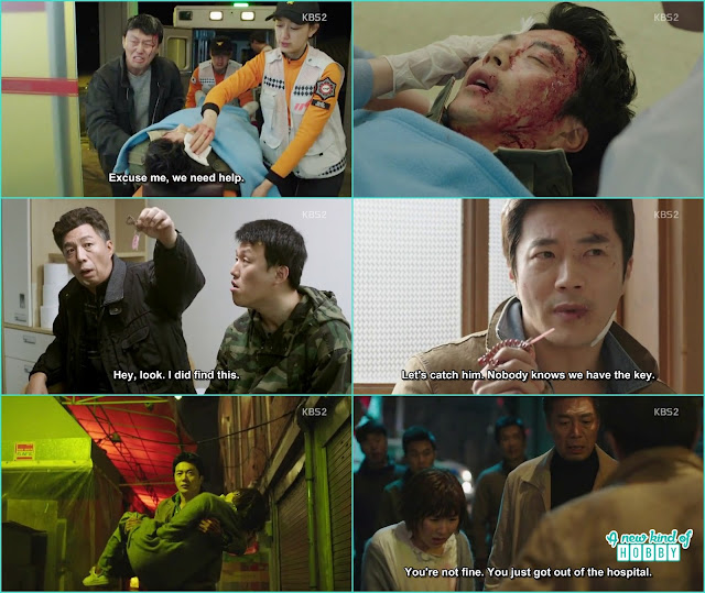 basically it was drug detective wang Seung case to catch the culprit of market locker - Queen of Mystery: Episode 2