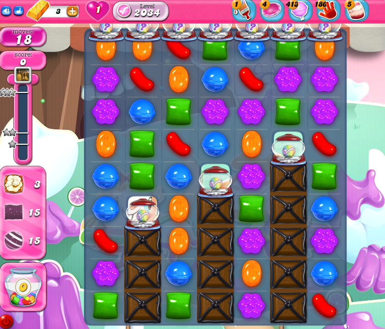 Candy Crush Saga 2034