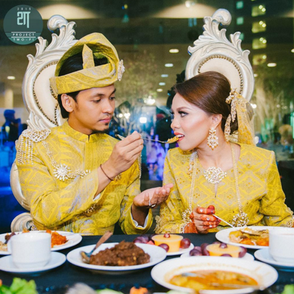 Gambar Menarik Sekitar Majlis Resepi Jihan Muse Dan Ungku Hariz