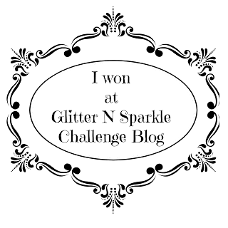 Winner at Glitter N Sparkle