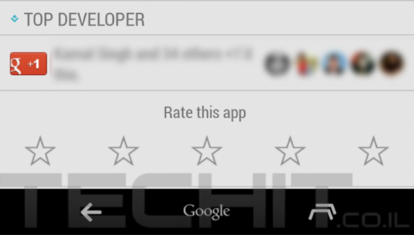 Android 4.4.3 KitKat Navigation Button