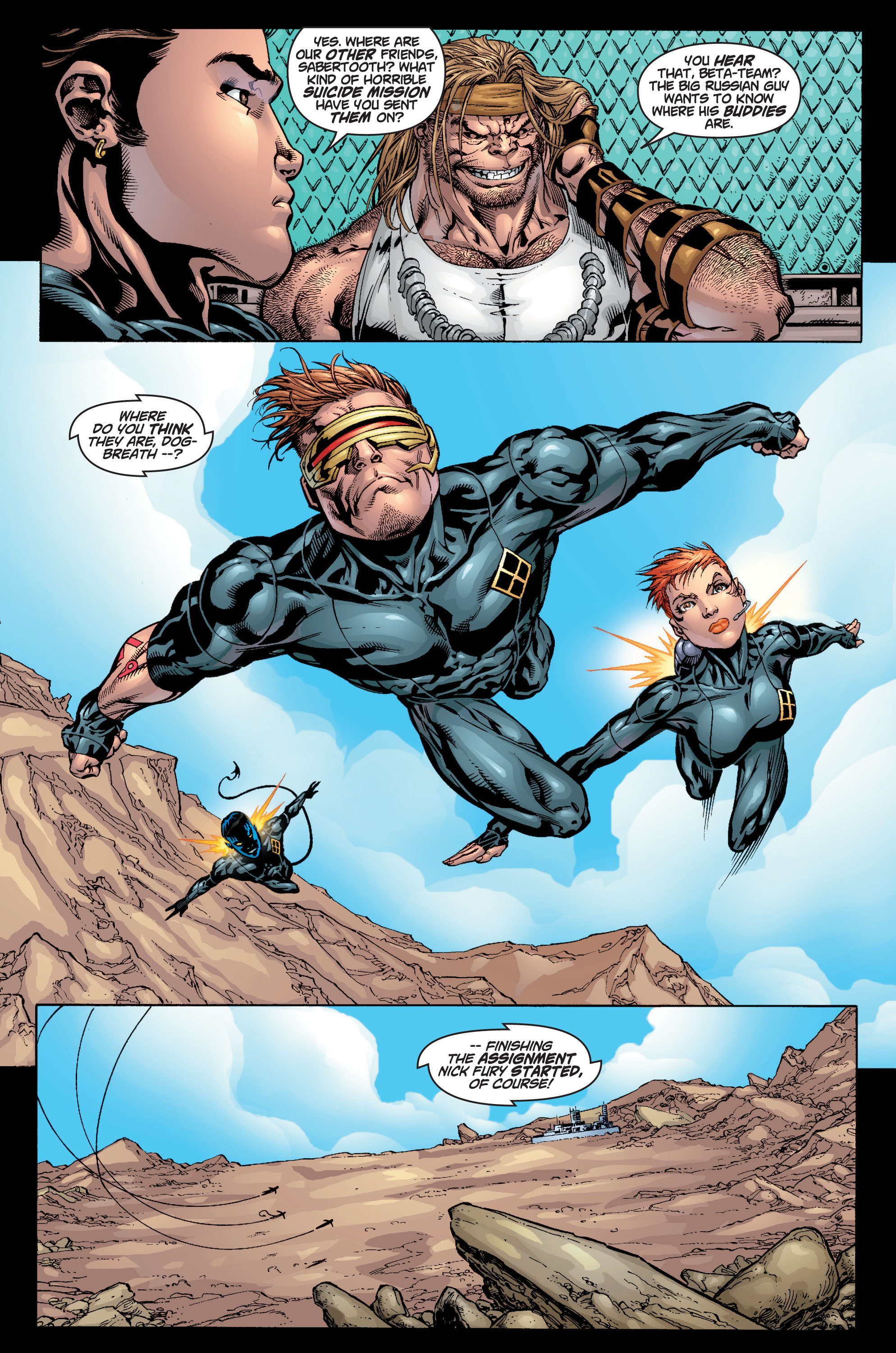 Read online Ultimate X-Men comic -  Issue #9 - 23
