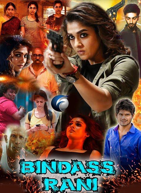 Bindass Rani Kolamavu Kokila 2019 Hindi Dubbed Movie 720p Hdrip
