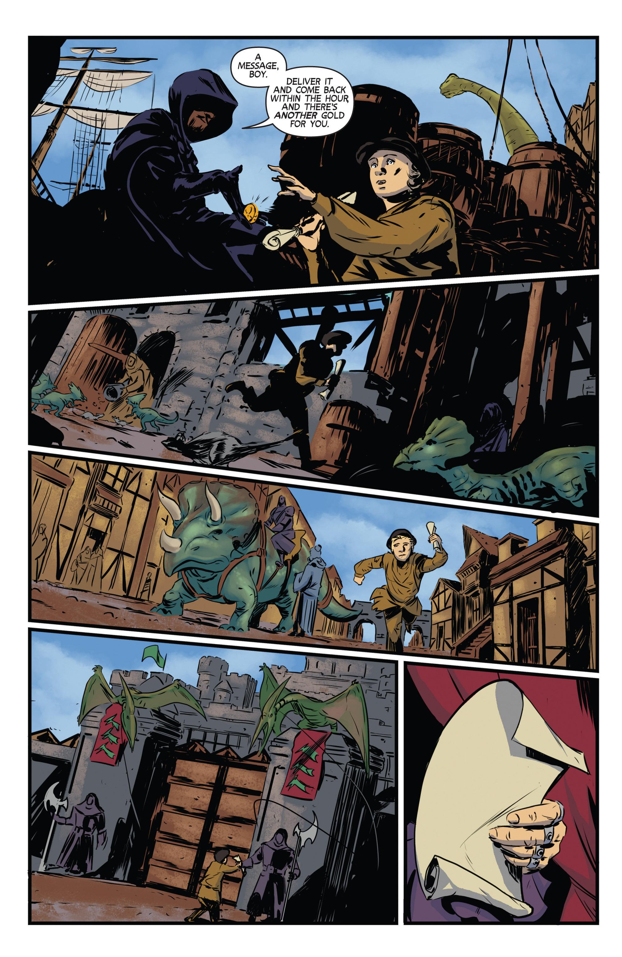 Read online Turok: Dinosaur Hunter (2014) comic -  Issue # _TPB 3 - 25
