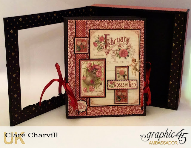 Valentine Album and Case Clare Charvill Graphic 45